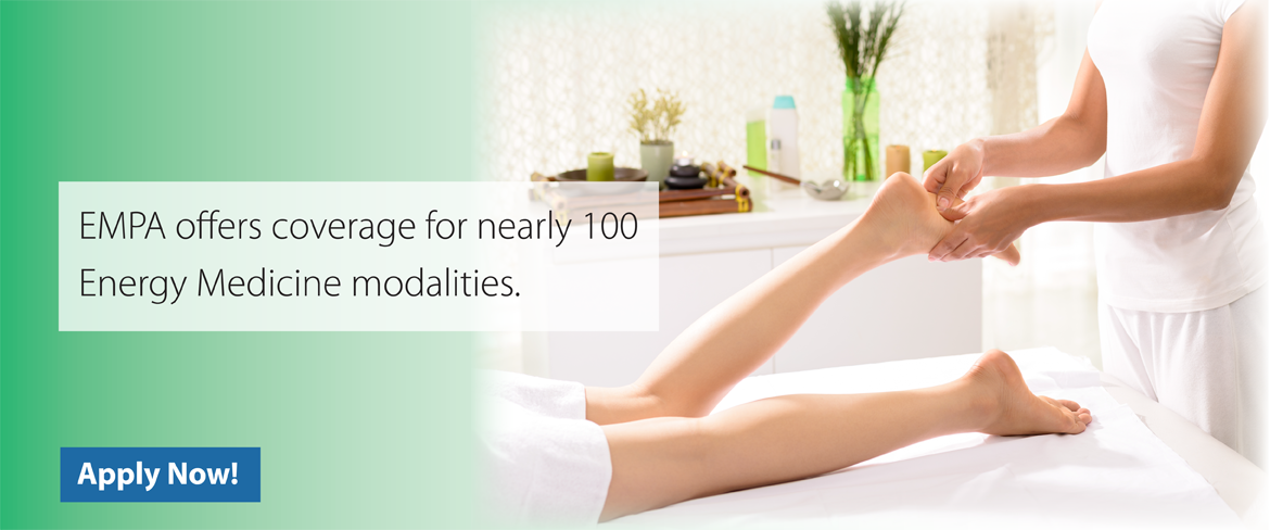 EMPA offers coverage for nearly 100 Energy Medicine Modalities.